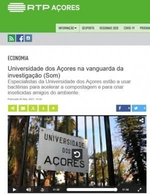 Investigadores do CBA-UAc estão a usar bactérias para acelerar a compostagem e para(...)
